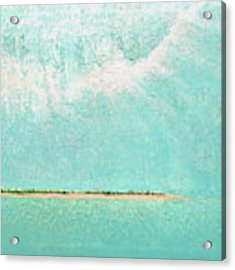 Subtle Atmosphere - Triptych 2 Of 3 Acrylic Print by Jaison Cianelli
