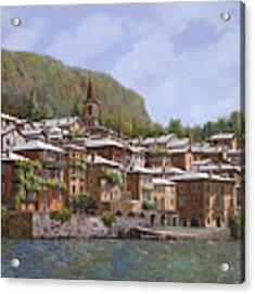 Sul Lago Di Como Acrylic Print