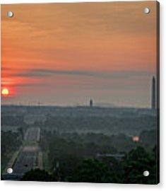 Sunrise From The Arlington House Acrylic Print by Cindy Lark Hartman