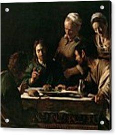 Supper At Emmaus Acrylic Print