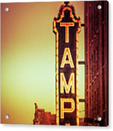 Tampa Theatre Acrylic Print by Carolyn Marshall