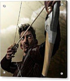 The Archer Acrylic Print by Sandra Bauser Digital Art