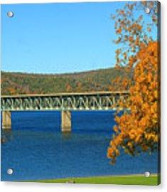 The Bridge Acrylic Print by Rick Morgan
