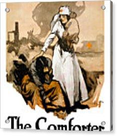 The Comforter - World War One Nurse Acrylic Print