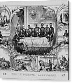 The Fifteenth Amendment  Acrylic Print