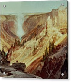 The Grand Canyon Of The Yellowstone Acrylic Print