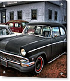 The Greaser's Ghost Acrylic Print by John De Bord
