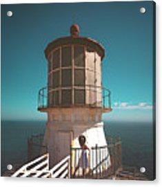 The Lighthouse Acrylic Print by Marji Lang