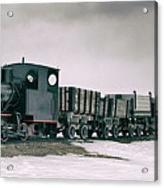 The Most Northern Train? Acrylic Print by James Billings