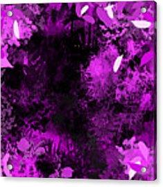 The Woods Acrylic Print by Antonio Romero