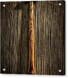 Tools On Wood 18 Acrylic Print