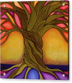 Tree Of Life Acrylic Print by Carla Bank