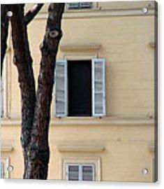 Tuscany Window Acrylic Print by Julian Perry