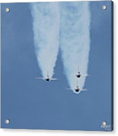 United States Air Force Thunderbirds Acrylic Print by Robert Banach