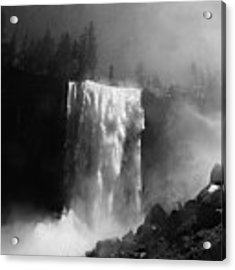 Vernal Fall And Mist Trail Acrylic Print by Raymond Salani III