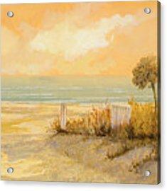 Verso La Spiaggia Acrylic Print by Guido Borelli