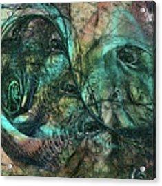 Virulent Germination Acrylic Print by Rhonda Strickland