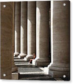 Waiting At St Peter's Acrylic Print by Julian Perry