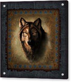 Wolf Lodge Acrylic Print