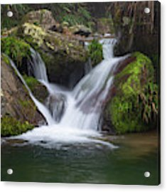 Mountain Waterfall IIi Acrylic Print by William Dickman