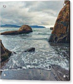 Oregon Coast Acrylic Print by Nicole Young