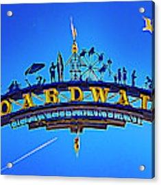 The Boardwalk Acrylic Print by Paul Wear