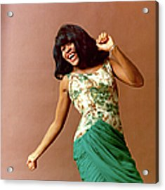 Tina Turner Portrait Session Acrylic Print by Michael Ochs Archives