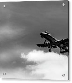 A-10 Slow Pass Acrylic Print by Doug Camara