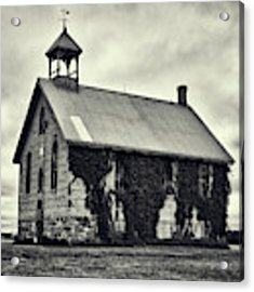 Abandoned Schoolhouse Acrylic Print by Garvin Hunter