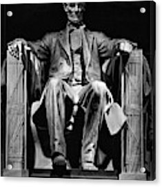 Abraham Lincoln Acrylic Print by Chris Lord