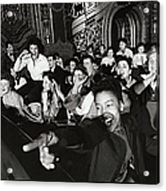 Alan Freed Misc Acrylic Print by Walter Sanders
