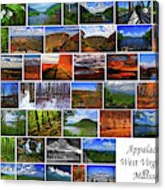 Appalachian Trail West Virginia Through Massachusetts Acrylic Print by Raymond Salani III