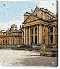 Blenheim Palace Number 2 Acrylic Print by Joe Winkler