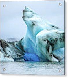 Blue Ice, Mendenhall Glacier Acrylic Print by Dawn Richards