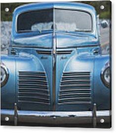 Blue Plymouth Acrylic Print by Elliott Coleman