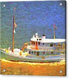Boating Days Acrylic Print by Alice Gipson