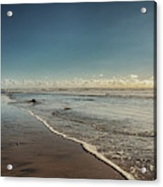 Carlsbad Low Tide Acrylic Print by Alison Frank