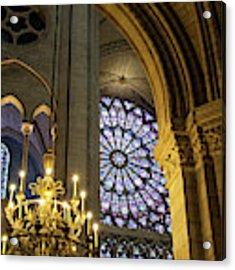 Cathedrale Notre Dame De Paris Acrylic Print by Brian Jannsen