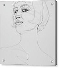 Confidence Acrylic Print by Jani Freimann