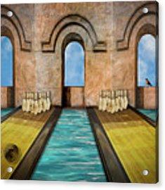 Dream Alley Acrylic Print by Paul Wear