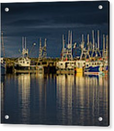 Evening Reflections Acrylic Print by Eva Lechner