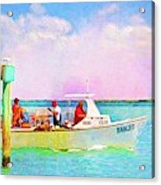 Fishing Bandit Acrylic Print by Alice Gipson