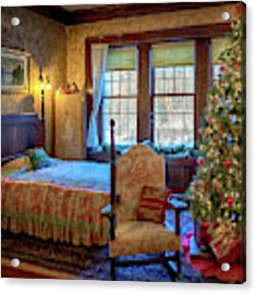 Glensheen Chester's Bedroom Acrylic Print by Susan Rissi Tregoning