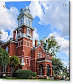 Historic Gwinnett County Courthouse Acrylic Print by Doug Camara