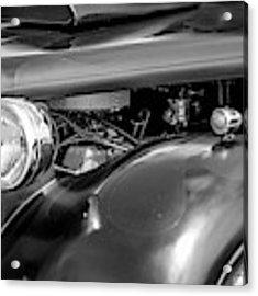 Hot Rod Engine Acrylic Print by Elliott Coleman