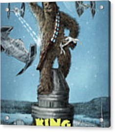 King Wookiee Acrylic Print by Eric Fan