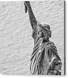Liberty Acrylic Print by Rand