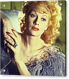 Lucille Ball Acrylic Print by Walter Sanders