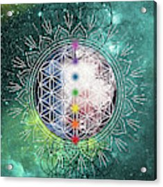 Lunar Mysteries Acrylic Print by Bee-Bee Deigner