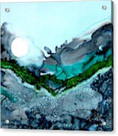 Moondance IIi Acrylic Print by Kathryn Riley Parker